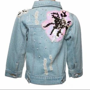 Other - Embellished Jean Jacket